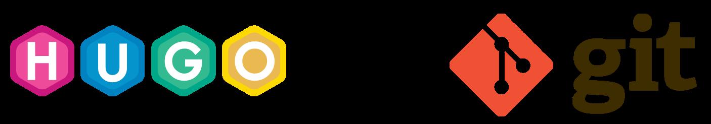 Hugo and Git Logos